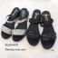 รองเท้าแตะริสตัลสไตล์แฟชั่นเกาหลี (สีดำ) thumbnail 11
