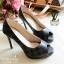 รองเท้าคัทชู Loius Vuitton Damier (ขาว) thumbnail 3