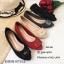 รองเท้าคัทชูส้นแบน Style Dior (สีเทา) thumbnail 9