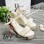 รองเท้าส้นเตารีด Platform GC (สีแดง) thumbnail 7