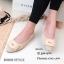 รองเท้าคัทชูส้นแบน Style Dior (สีเทา) thumbnail 4