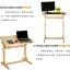 Pre-order โต๊ะไม้สนขาว โต๊ะทำงานปรับระดับ โต๊ะแล็ปท็อป โต๊ะวางคอมพิวเตอร์ โต๊ะเขียนแบบ ปรับระดับ และปรับองศาได้ thumbnail 5
