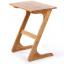 Pre-order โต๊ะไม้ไผ่ Z โต๊ะแล็ปท็อป โต๊ะวางคอมพิวเตอร์ สีวอลนัท thumbnail 1