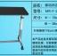 Pre-order โต๊ะทำงานปรับระดับ โต๊ะแล็ปท็อป โต๊ะวางคอมพิวเตอร์ โต๊ะพรีเซนต์งาน โต๊ะปรับไฮดรอลิก มีล้อเลื่อน สีดำ thumbnail 6
