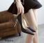 รองเท้าคัทชูกากเพชร (สีดำ) thumbnail 3