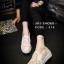 พร้อมส่ง : รองเท้าลูกไม้สไตล์ Givenchy (สีขาว) thumbnail 6