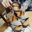 รองเท้าส้นเตารีดส้นหวาย (สีเทา) thumbnail 3