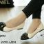 รองเท้าคัทชู Style Chanel (สีครีม) thumbnail 3