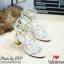 รองเท้า Valentino pumps rainbow color t-strap rockstud (สีดำ) thumbnail 3
