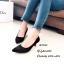 รองเท้าคัทชูปักลายดอกไม้ (สีเทา) thumbnail 4