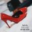 รองเท้าคัทชูหน้าวีแต่งอะไหล่ (สีดำ) thumbnail 12