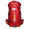 DF07 กระเป๋าเดินทาง สีแดง ขนาด 50 ลิตร (เสริมโครง)