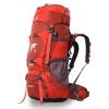 ⭐ DF01 กระเป๋าเดินทาง Topsky สีส้ม ขนาดจุสัมภาระ 70+10 ลิตร (เสริมโครง+ปรับระดับ S M L)
