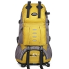 NL14 กระเป๋าเดินทาง สีเหลือง ขนาดจุสัมภาระ 50 ลิตร