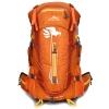 DF07 กระเป๋าเดินทาง สีส้ม ขนาด 50 ลิตร (เสริมโครง)