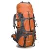 DF05 กระเป๋าเดินทางเสริมโครง สีส้ม ขนาดจุสัมภาระ 55+10 ลิตร
