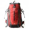 NL22 กระเป๋าเดินทาง Pentagram สีแดง ขนาดจุสัมภาระ 50 ลิตร (เสริมโครง)