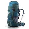 DF01 กระเป๋าเดินทาง Topsky สีเขียวหัวเป็ด ขนาดจุสัมภาระ 70+10 ลิตร (เสริมโครง+ปรับระดับ S M L)