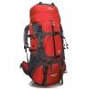 DF05 กระเป๋าเดินทางเสริมโครง สีแดง ขนาดจุสัมภาระ 55+10 ลิตร