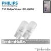 T10 Philips Vision LED 360° 6000K ส่งฟรี EMS