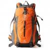 NL22 กระเป๋าเดินทาง Pentagram สีส้ม ขนาดจุสัมภาระ 50 ลิตร (เสริมโครง)