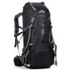 DF06 กระเป๋าเดินทาง สีดำ ขนาดจุสัมภาระ 45+5 ลิตร