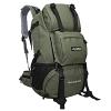 NL15 กระเป๋าเดินทางเสริมโครง สีเขียวทหาร ขนาดจุสัมภาระ 42 ลิตร