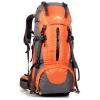 DF06 กระเป๋าเดินทาง สีส้ม ขนาดจุสัมภาระ 45+5 ลิตร