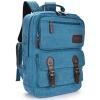 VT07-ฺ Blue กระเป๋าเป้แคนวาส กระเป๋าผู้ชาย สีฟ้า