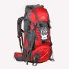 NL13 กระเป๋าเดินทาง สีแดง ขนาด 55+5 ลิตร (เสริมโครง)