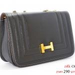 กระเป๋าสะพายข้างสำหรับสุภาพสตรีแฟชั่น เกรดพรีเมี่ยม (สีดำ) ส่งฟรี!
