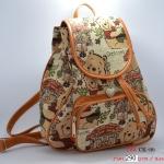กระเป๋าแฟชั่นน่ารักลายหมีพู กำลังฮิตเลยค่ะ ขายดี! ส่งฟรีค่ะ!