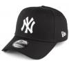 หมวก NY NEW ERA 9FORTY Adjustable - Black (สติ๊กเกอร์ดำเงิน)