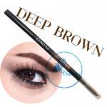 Cosluxe Slimbrow Pencil # Deep Brown เขียนคิ้วเนื้อฝุ่นอัดแข็ง ช่วยในการแรเงาคิ้วได้อย่างธรรมชาติ หัวดินสอเรียวทำให้เขียนได้คม เนื้อดินสอนุ่มเขียนง่าย