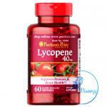 (ขายส่ง 750.-) Puritan's Pride Lycopene 40 mg 60 Softgels สารสกัดจากมะเขือเทศเข้มข้น ให้ผิวเนียนสวย สุขภาพดี ต่อต้านอนุมูลอิสระของร่างกาย