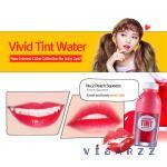 (# 2 Peach Squeeze) Peripera Vivid Tint Water 5.5mL ลิปทินต์น้ำผลไม้ หอมหวานอมเปรี้ยว เนื้อบางเบา มอบเม็ดสีแน่น สีคมชัดติดทนนาน ช่วยเติมสีสันที่สดใส