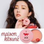 3CE Maison Kitsune Soft Cheek #Pure Peony 9g บรัชออนปัดแก้มสีน่ารัก แพคเกจน่าเลิฟ จากคอลเลคชั่นเมซอง คิทึเนะ ที่มีน้องจิ้งจอกน้อยเป็นธีมหลัก