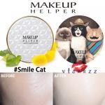 (#21 ตลับลาย Smile Cat) Makeup Helper Double Cushion Calendula Blossom SPF50+ /PA+++ คูชั่น แป้งน้ำลุ๊คฉ่ำสาวเกาหลีค่ะ ไม่เหนอะ ไม่มันไม่เยิ้ม ทาปุ๊ปแห้งปั๊ป โดยไม่ต้องเติมแป้ง ปกปิดได้อย่างดีแม้แผลเป็นที่ชัดมากๆ ไม่อุดตัน มาพร้อมกันแดด 50เท่า ตลับใหญ