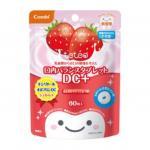 ลูกอมป้องกันฟันผุสำหรับเด็ก Combi Teteo Oral Balance Tablet DC+ (Strawberry Milk)