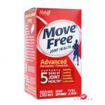 Schiff Move Free Total Joint Health Advanced (Glucosamine + Chondroitin) 200 Coated Tablets ช่วยบำรุง และเพิ่มความยืดหยุ่นไขข้อ