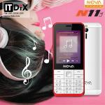 มือถือปุ่มกด 3G NOVA PHONE N11i สีแดง
