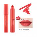 (#24 Nectar Coral) Mamonde Creamy Tint Color Balm Intense 2.5g ลิปแมทท์ที่ดังมากในประเทศเกาหลี สีแน่นคมชัด ไม่ทำให้ปากแห้งและจับตัวเป็นก้อน