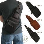 SL275 กระเป๋าสะพายเฉียง (สีดำ,น้ำตาล,ช็อคโกแล็ต)