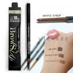 Cosluxe Brows Up Gel Eyebrows Pencil # Maple Syrup ดินสอเขียนคิ้วเนื้อเจลที่ถูกอัดมาในรูปแบบแท่ง ติดทน 18 ชั่วโมง เขียนง่าย กันน้ำกันหงื่อ