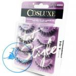 Cosluxe Wanderlust Eyelashes No.4-04 Value Pack จำนวน 4 คู่ พร้อมฟรีกาวติดขนตาขนาดจิ๋ว พกพาสะดวก ขนตาปลอม Handmade 100% คุณภาพเยี่ยม
