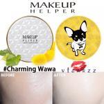 (#21 ตลับลาย Charming Wawa) Makeup Helper Double Cushion Calendula Blossom SPF50+ /PA+++ คูชั่น แป้งน้ำลุ๊คฉ่ำสาวเกาหลีค่ะ ไม่เหนอะ ไม่มันไม่เยิ้ม ทาปุ๊ปแห้งปั๊ป โดยไม่ต้องเติมแป้ง ปกปิดได้อย่างดีแม้แผลเป็นที่ชัดมากๆ ไม่อุดตัน มาพร้อมกันแดด 50เท่า ตลับใหญ