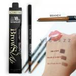 Cosluxe Brows Up Gel Eyebrows Pencil # Brandy ดินสอเขียนคิ้วเนื้อเจลที่ถูกอัดมาในรูปแบบแท่ง ติดทน 18 ชั่วโมง เขียนง่าย กันน้ำกันหงื่อ