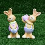 กระต่ายเซรามิคถือไข่ SALE!!! ซื้อ 1 แถม 1