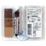 Canmake Mix Eyebrow # 03 Soft Brown พาเลตต์แชร์โดว์ปัดคิ้วแสนสวยโทนน้ำตาลเข้ม ไล่ 3 เฉดสี ให้มุมมองที่สวย ถูกใจ