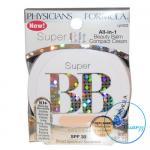รุ่นใหม่ Physicians Formula Super BB All-in-1 Beauty Balm Compact Cream SPF30 8g # Light 6232 บีบีครีมแบบตลับ ช่วยปกปิดพร้อมปกป้องผิวให้เนียนสวย